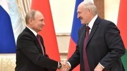 ВКремле раскрыли детали предстоящих переговоров Путина иЛукашенко