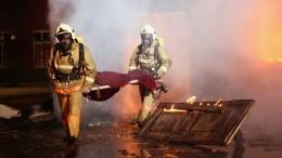 Тела четырех человек нашли всгоревшем дотла доме вПодмосковье