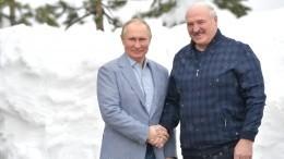 Путин пригласил Лукашенко налыжную прогулку вСочи