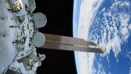 «Мирного неба над планетой»: космонавты сМКС поздравили россиян с23февраля