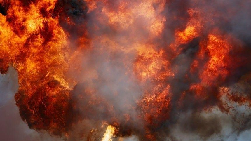 Взрыв прогремел нагазопроводе под Оренбургом