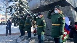 Как празднуют День защитника Отечества вподмосковном Чехове? —видео