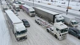 Метели иснегопады провоцируют транспортные коллапсы повсей России