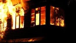 Инспекторы ДПС спасли пятерых детей изгорящего дома под Челябинском— видео