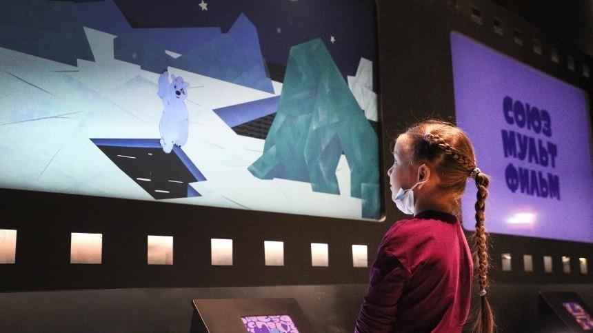 НаВДНХ состоялось открытие парка помотивам «Союзмультфильма»