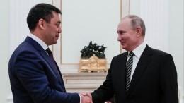 РФиКиргизия продолжат сотрудничество вборьбе сCOVID-19