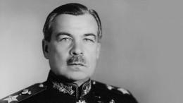 Премьера фильма олегендарном маршале СССР Леониде Говорове состоялась вПетербурге