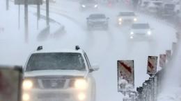 МЧС распространило экстренное предупреждение оснегопаде игололедице вМоскве