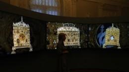 Выставка ювелирных шедевров изколлекций Cartier иЭрмитажа открылась вПетербурге