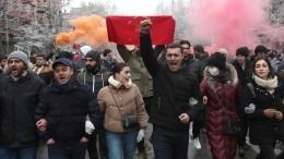 «Призываем кспокойствию»: вКремле прокомментировали ситуацию вАрмении