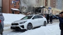Видео сместа взрыва вжилом доме Нижнего Новгорода