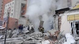 Из-за начавшегося после взрыва пожара эвакуируют жильцов дома вНижнем Новгороде