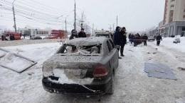 Спасатели ищут людей под завалами после взрыва вдоме Нижнего Новгорода