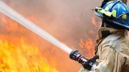 Видео мощного пожара наЮбилейном месторождении вЯНАО