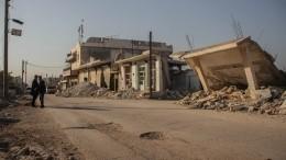 США предупредили российских военных обавиаударе поСирии занесколько минут