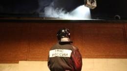 Очевидцы сообщили овзрыве вквартире насеверо-востоке Петербурга— фото