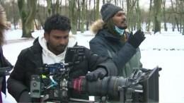 Съемки индийского кино проходят вГатчинском парке под Петербургом