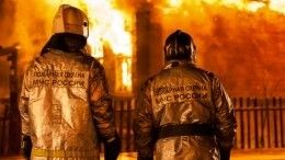Огонь охватил ночью психоневрологический интернат вТверской области