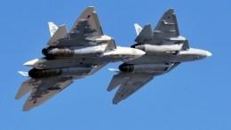 Жуткое крещендо. Американцев впечатлил звук полета истребителей Су-57