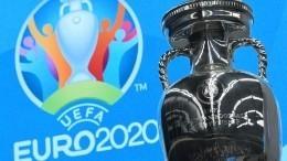 ВПетербург прибыл главный трофей Евро-2020