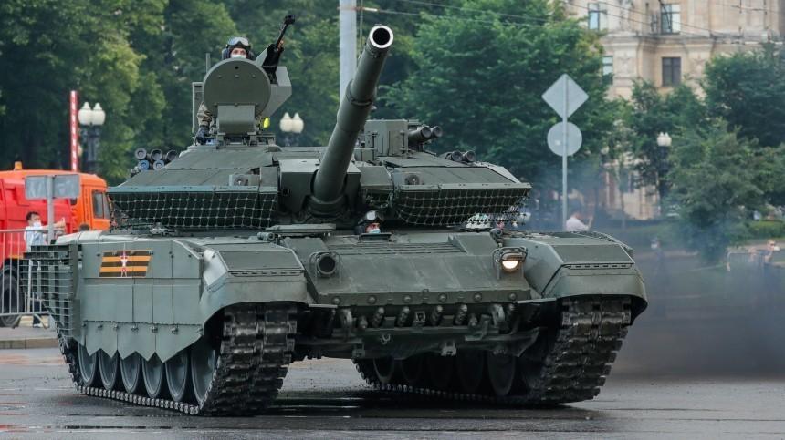Американцы признали российский танк Т-90М «смертоносным монстром»