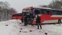 Два человека погибли, восемь пострадали вДТП савтобусами наКамчатке