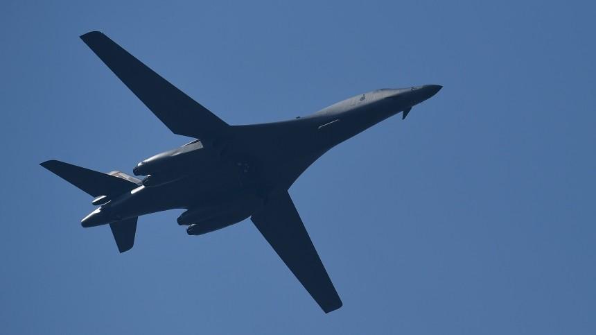 Российский Су-27 перехватил над Балтийским морем два бомбардировщика США