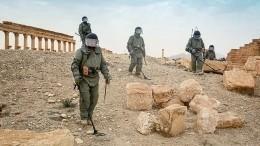 Российские военные приступили кразминированию крупнейшего парка аттракционов вСирии