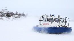 Любителей зимней рыбалки чудом спасли сотколовшейся льдины наСахалине