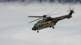 Девять турецких военных погибли при крушении вертолета