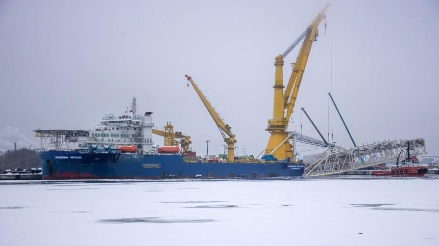 Сенаторы попросили Байдена ввести санкции против «Северного потока— 2»