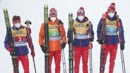 Российские лыжники завоевали серебро вэстафете начемпионате мира