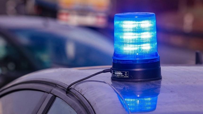 Видео: Водителя Maybach смигалкой ифальшивыми номерами «В666ОР» задержали вПетербурге
