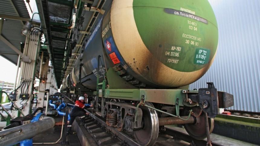Вроссийские порты начали поставлять нефтепродукты изБелоруссии