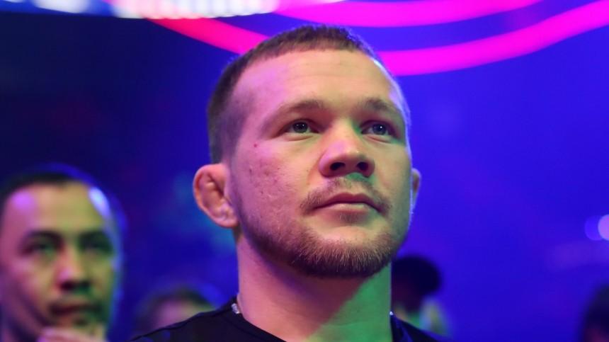 Боксера Петра Яна дисквалифицировали из-за запрещенного удара наUFC 259— видео