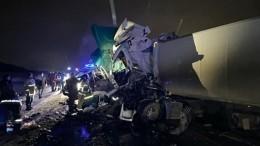 Автобус стуристами попал вДТП сгрузовиками вБашкирии, есть погибшие