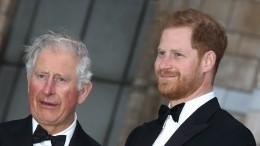 Принц Чарльз перестал общаться сосвоим сыном Гарри из-за Меган Маркл