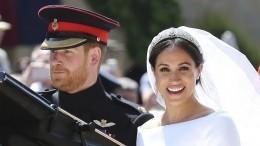 Принц Гарри иМеган Маркл тайно расписались затри дня до«королевской» свадьбы