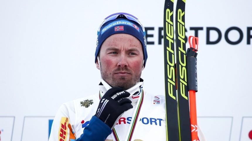 Губерниев предложил «послать вжопу» выигравшего ЧМнорвежского лыжника Иверсена