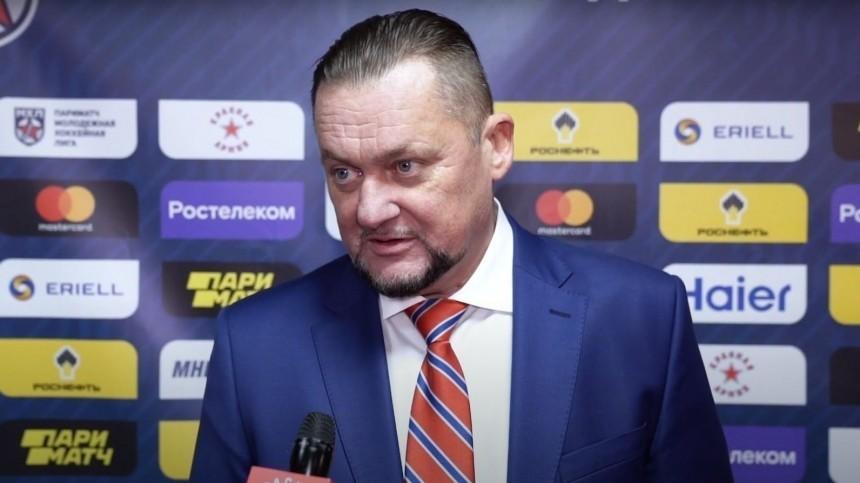 Главный тренер ХК«Красная Армия» умер на57-м году жизни