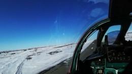 Видео: МиГ-31 перехватил научениях вАрктике сверхзвуковой самолет-нарушитель