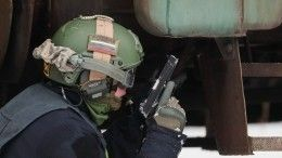 Неизвестные оказали вооруженное сопротивление силовикам вМахачкале