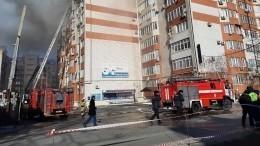 Навосьмом этаже сгоревшего вАнапе дома могла быть незаконная баня