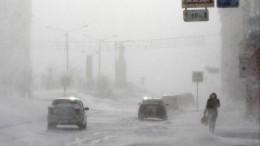Сдувает людей, сносит балконы: снежный шторм атаковал жителей Читы