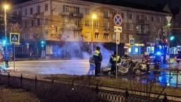 ВКалининграде водитель устроил огненное смертельное ДТП— жуткие кадры