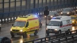 Таран автобуса автоледи наMINI Cooper вМоскве попал навидео