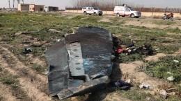 ВИране назвали виновного вкрушении украинского Boeing-737