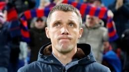Главный тренер ЦСКА вшаге ототставки после проигрыша «Зениту»
