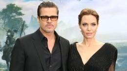 Джоли готовит доказательства домашнего насилия состороны Брэда Питта