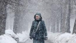 Кубань оказалась под ледяным обстрелом— видео